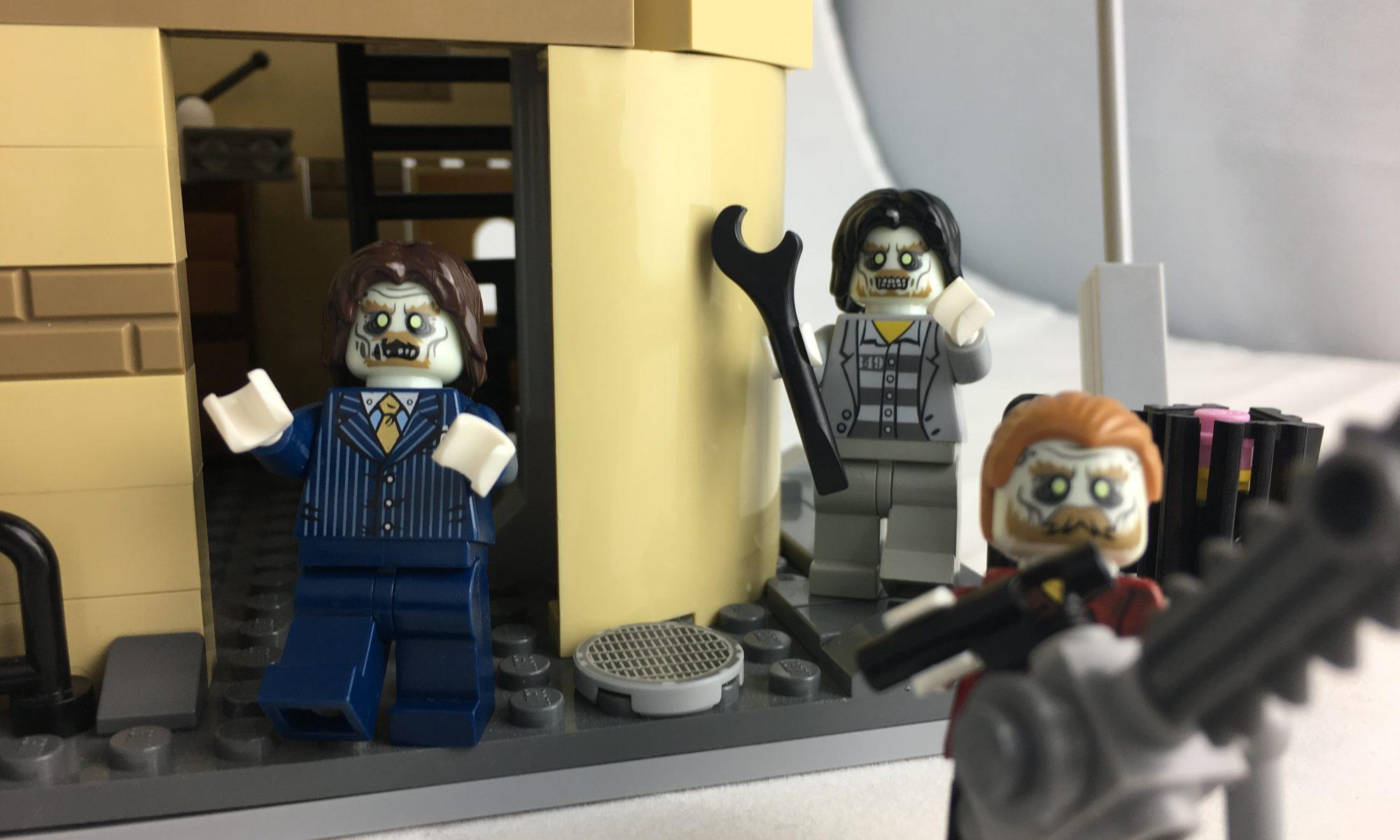 лего зомби апокалипсис игрушки картинки слухам, причиной